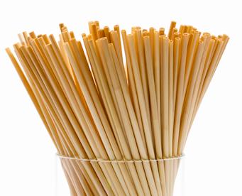 Pailles en blé 215 x 4-6 mm